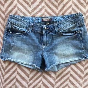 Paige premium jean shorts